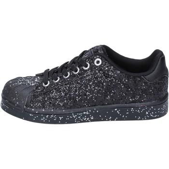 Scarpe Bambina Sneakers basse Solo Soprani sneakers nero glitter BT294 Nero