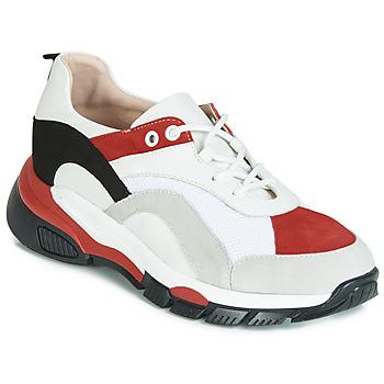 Scarpe Donna Sneakers basse Tosca Blu KELLY Bianco / Rosso
