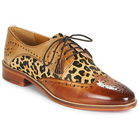 Scarpe Donna Derby Melvin & Hamilton BETTY-4 Marrone / Leopard