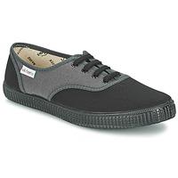 Scarpe Sneakers basse Victoria INGLESA BICOLOR Antracite