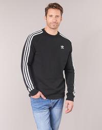 Abbigliamento Uomo Felpe adidas Originals 3 STRIPES CREW Nero