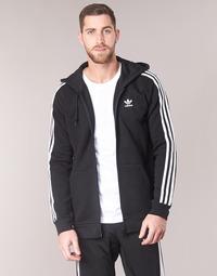 Abbigliamento Uomo Felpe adidas Originals 3 STRIPES FZ Nero