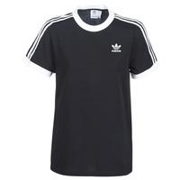 Abbigliamento Donna T-shirt maniche corte adidas Originals 3 STRIPES TEE Nero