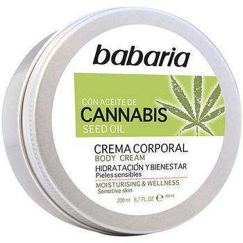 Bellezza Idratanti & nutrienti Babaria Cannabis Crema Corporal Hidratante Y Bienestar  200 ml