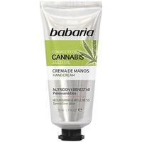 Bellezza Trattamento mani e piedi Babaria Cannabis Crema Manos Nutrición Y Bienestar  50 ml