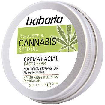 Bellezza Idratanti e nutrienti Babaria Cannabis Crema Facial Nutrición Y Bienestar  50 ml
