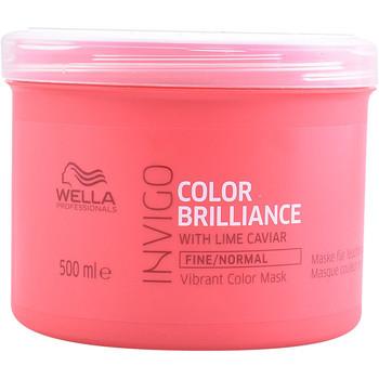 Bellezza Maschere &Balsamo Wella Invigo Color Brilliance Mask Fine Hair  500 ml
