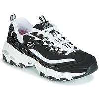 Scarpe Donna Sneakers basse Skechers D'LITES Nero / Bianco