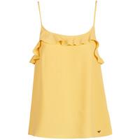 Abbigliamento Donna Top / T-shirt senza maniche Les Petites Bombes AZITAFE Giallo
