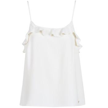 Abbigliamento Donna Top / T-shirt senza maniche LPB Woman AZITAFE Bianco