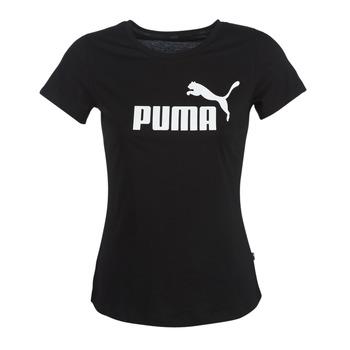 Abbigliamento Donna T-shirt maniche corte Puma PERMA ESS TEE Nero