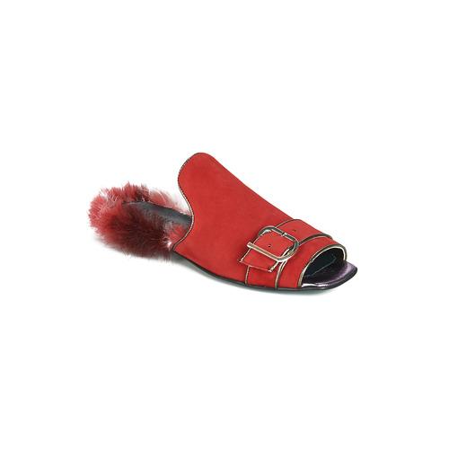 Consegna Scarpe Ciabatte 7950 Gratuita Papucei Donna Rosso Obsentum dWCxBQero
