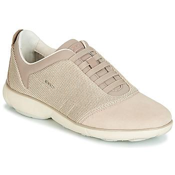 Scarpe Donna Sneakers basse Geox D NEBULA Beige / Crema