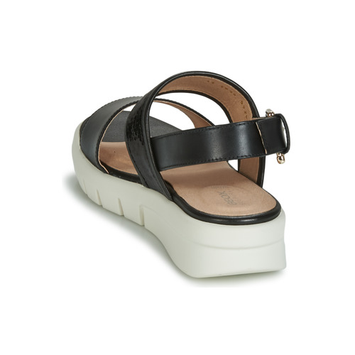 8050 Donna Nero D Consegna Scarpe Wimbley Sandal Gratuita Sandali Geox jLq34AR5c