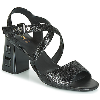 Scarpe Donna Sandali Geox D SEYLA S. HIGH PLUS Nero