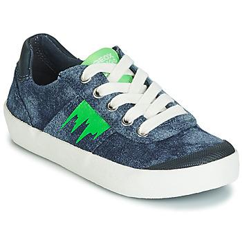 Scarpe Bambino Sneakers basse Geox J KILWI BOY Blu / Verde