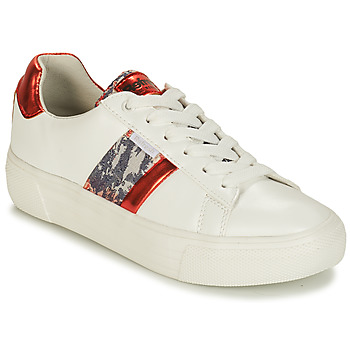 Scarpe Donna Sneakers basse Refresh 69954 Bianco / Rosso