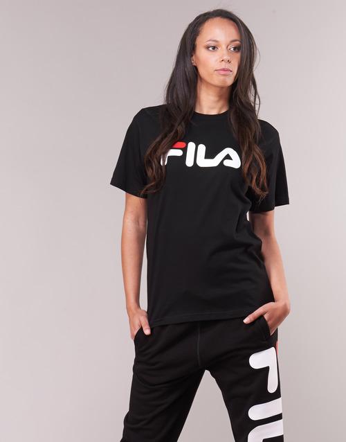 shirt Gratuita Corte Fila Shirt Nero T Sleeve Consegna Abbigliamento Short Pure Maniche 3000 wZiuXOkPTl