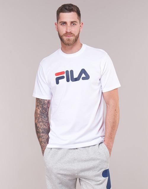 Pure Shirt T Sleeve Short Gratuita Bianco Fila Corte Abbigliamento Maniche shirt Consegna 2550 c53ALj4Rq
