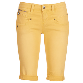 Abbigliamento Donna Shorts / Bermuda Freeman T.Porter Belixa New Magic Color Giallo