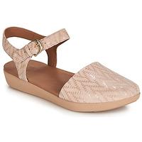 Scarpe Donna Sandali FitFlop COVA II CHEVRON Oyster / Pink