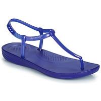 Scarpe Donna Sandali FitFlop IQUSHION SPLASH - PEARLISED Blue