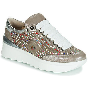 Scarpe Donna Sneakers basse Now 5357-008 Beige / Paillettes