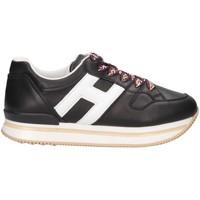 Scarpe Unisex bambino Sneakers basse Hogan HXC2220T548FH5002 Sneakers Bambina Nero Nero