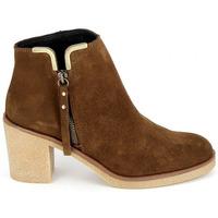 Scarpe Donna Stivaletti Porronet Boots 4032 Marron Marrone