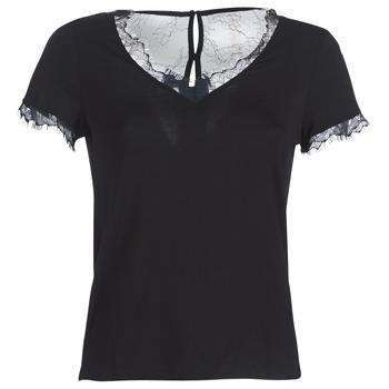 Abbigliamento Donna T-shirt maniche corte Morgan DMINOL Nero