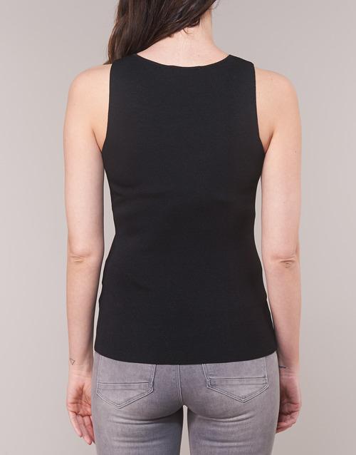 shirt Nero Senza Morgan TopT Maniche Mpax H9DIWE2Y