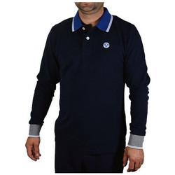 Abbigliamento Uomo Polo maniche lunghe North-Sails POLOL/SW/LOGOFelpe blu