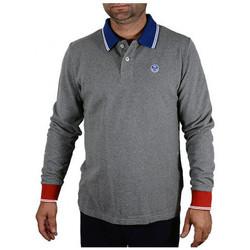 Abbigliamento Uomo Polo maniche lunghe North-Sails POLOL/SW/LOGOFelpe grigio