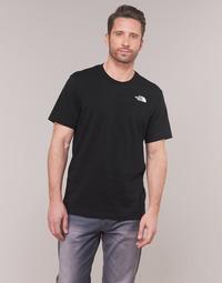 Abbigliamento Uomo T-shirt maniche corte The North Face MEN'S S/S REDBOX TEE Nero