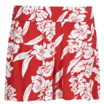 Abbigliamento Donna Shorts / Bermuda Volcom ALOHA HA SHORT Rosso