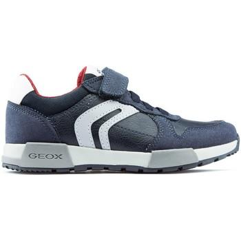 first rate 1a41f 9749b Scarpe Uomo Sneakers basse Geox Scarpe JR ALFIER NAVY