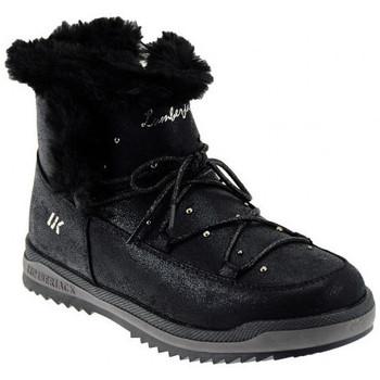 Scarpe Unisex bambino Stivali da neve Lumberjack LAGOON Scarponcini nero