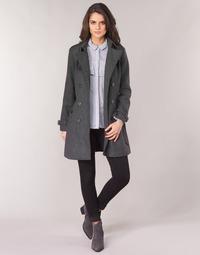 Abbigliamento Donna Cappotti Casual Attitude HAIELLI Grigio