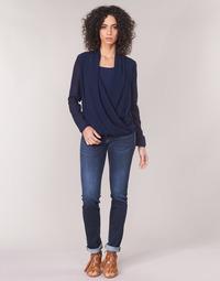 Abbigliamento Donna Jeans dritti Le Temps des Cerises PULP REGULAR Blu
