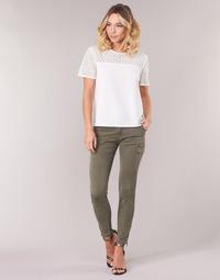 Abbigliamento Donna Pantalone Cargo Le Temps des Cerises ARMY Kaki