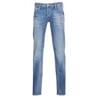 Abbigliamento Uomo Jeans slim Le Temps des Cerises 711 Blu / Medium