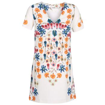 Abbigliamento Donna Abiti corti Desigual CORK Bianco