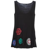 Abbigliamento Donna Top / T-shirt senza maniche Desigual MELISA Nero