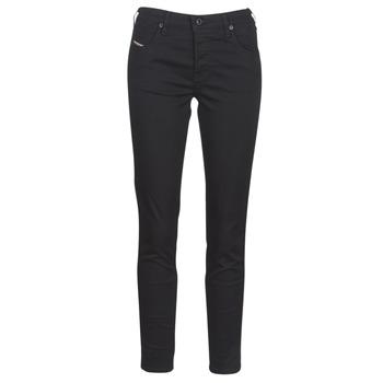 Abbigliamento Donna Jeans slim Diesel BABHILA Nero