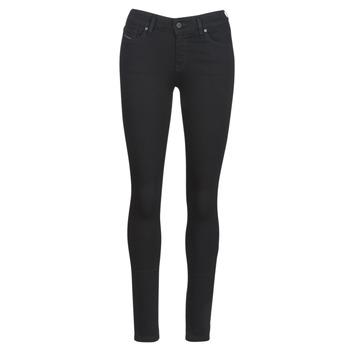 Abbigliamento Donna Jeans slim Diesel SLANDY Nero
