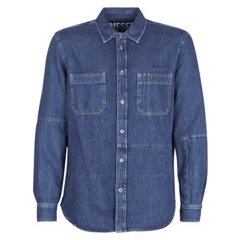 Abbigliamento Uomo Camicie maniche lunghe Diesel D FRED Blu