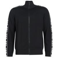Abbigliamento Uomo Gilet / Cardigan Diesel K KER A Nero
