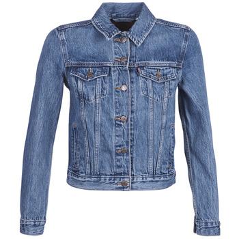 Abbigliamento Donna Giacche in jeans Levi's ORIGINAL TRUCKER Blu / Medium