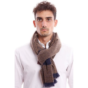 Accessori Uomo Sciarpe Gierre SCIARPA IN MISTO LANA MARRONE Brown