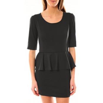 Abbigliamento Donna Abiti corti Tcqb Robe Moda Fashion Anthracite Grigio